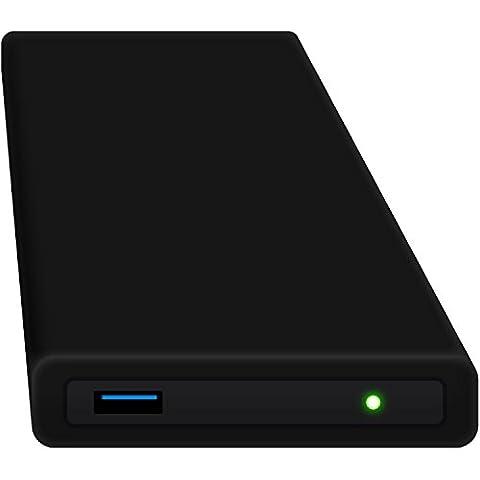 HipDisk SW 250GB SSD Externe Festplatte (6,4 cm (2,5 Zoll), USB 3.0) tragbare portable mit austauschbarer Silikon-Schutzhülle stoßfest wasserabweisend