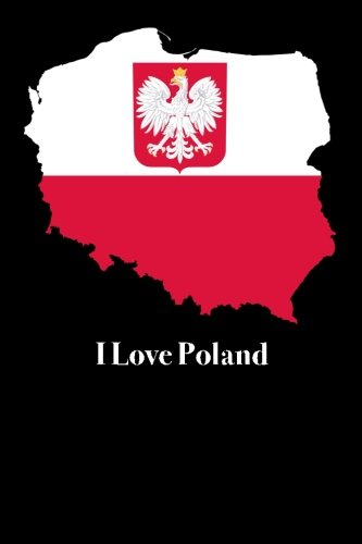 i-love-poland-blank-lined-journal-6x9-118-pages-travel-notebooks
