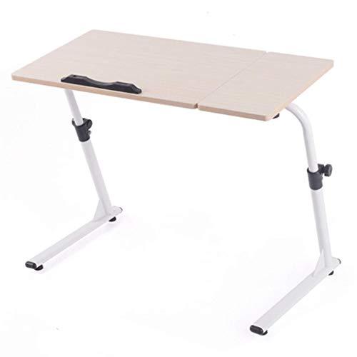 Esstisch Partytisch -GR Tragbarer Klapptisch Laptop Tisch Klapptisch Faules Bett Tisch Sofa Beistelltisch Einfache Tabelle Holz Farbe Gartentisch Buffettisch (8 Ft Kunststoff-tabelle)