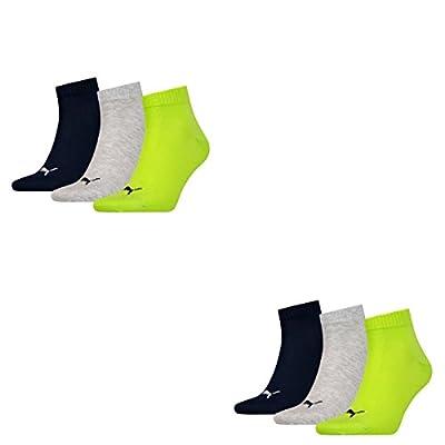 Puma Unisex Quarters Socken Sportsocken 6er Pack