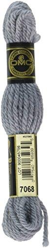 DMC 486-7068Tapisserie und Stickerei Wolle, 8.8-Yard, grau blau -