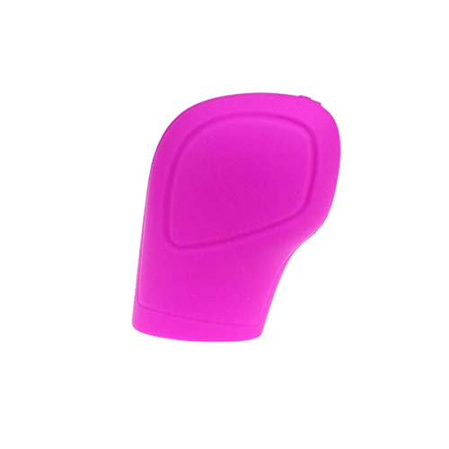 ECYC Universal Auto Silikon Getriebekopf Auto Handbremse Griffabdeckung, Pink (Schaltknauf Abdeckung Pink)