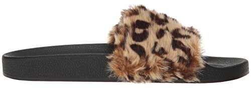 Steve Madden, Sandali donna nero Black Leopard