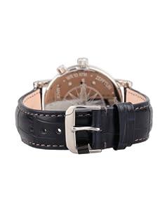 Zeppelin Watches 7540-3 - Reloj analógico de cuarzo para hombre con correa de piel, color negro de Zeppelin Watches