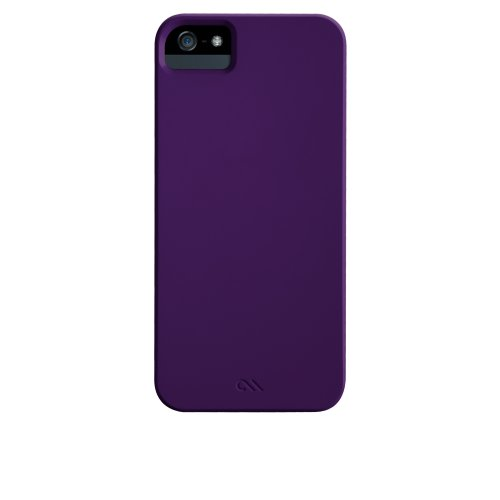 Case-Mate CM022400 Barely There Case für Apple iPhone 5 lila Case-mate Skins
