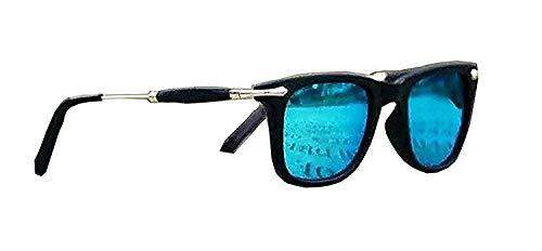 Rex Tony Stark Style Men's Sunglasses (Blue)