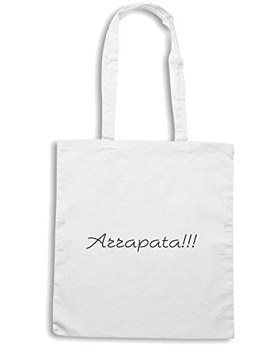 T-Shirtshock - Borsa Shopping TDM00027 arrapata Bianco