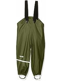 CareTec Pantalones Impermeable Unisex Niños, Verde (Chive 996), 74
