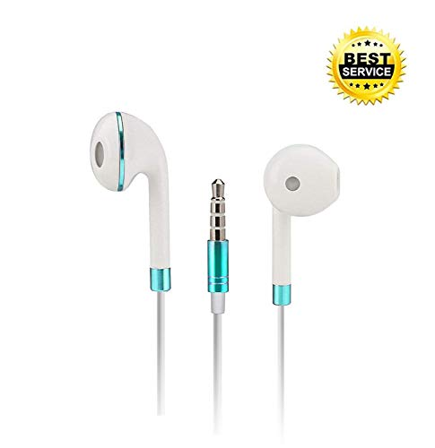 Auricolari in-ear,DAREYOU Wired Cuffie con microfono e controllo remoto, compatibile con all Jack per cuffie da 3,5 mm Samsung/HTC/Huawei Lettori mp3 etc