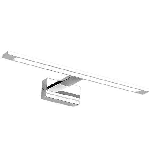 Kommode, Badezimmer-eitelkeit (YL-Light LED Spiegel Vorne Lampe WC Spiegel Spiegel Lampe Badezimmer Makeup Kommode Toiletten Toilette Spiegel Lampen, Are White)