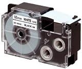 Casio Schriftbandkassette XR-18 WE 18mm schwarz auf weiß