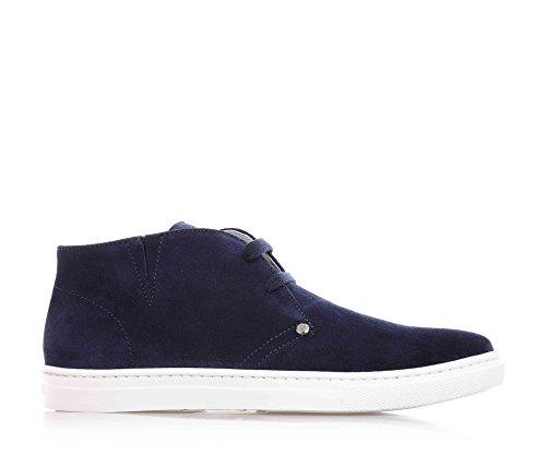 cesare-paciotti-polish-blue-stringato-suede-recognisable-by-a-unique-design-boys-boys-blue-size-6