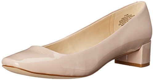 Nine West Olencia Synthetic Kleid Pump Light Natural Synthetic