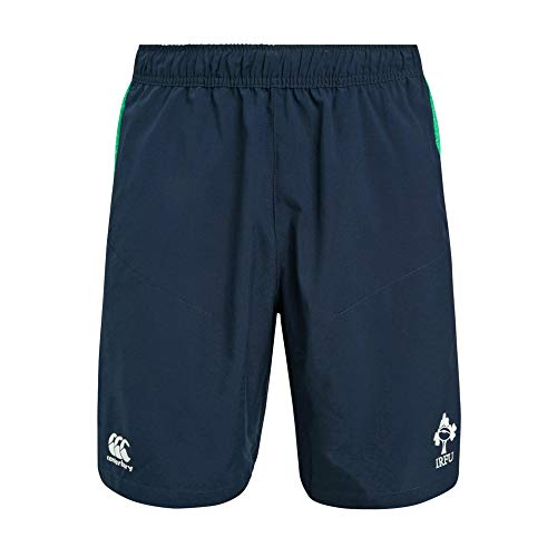 Canterbury of New Zealand Men's Ireland Vapodri Woven Gym Shorts, Navy Blazer, X-Large