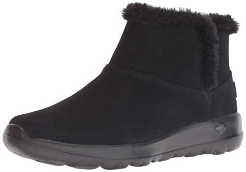 Skechers Damen On-The-go-Bundle Up Kurzschaft Stiefel, Schwarz (Black BBK), 39 EU