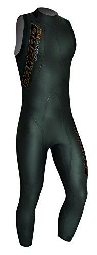 Camaro Herren Schwimmlongsuit Blacktec Skin 7/8, Schwarz, 50, 957795-99