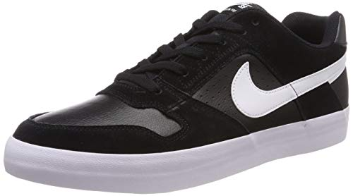 separation shoes 1cf16 594f9 Nike SB Delta Force Vulc, Zapatillas de Skateboard para Hombre, Negro  (Black Anthracite