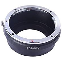 tinxi® Canon EOS EF Montaje de la lente al adaptador SONY NEX E Monte para NEX-3 NEX-5 NEX-6 NEX-7 NEX-VG10 DC108 NEX-3N NEX-C3 NEX-5T A5000 A5100 A6000 A7 A7R A7S A7II A7RII A7SII