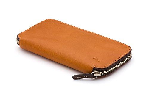 Portefeuille en cuir Bellroy Carry Out Java Caramel