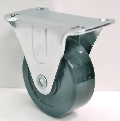 2 1/2 Swivel Plate Utility Caster With Brake 115 Lbs Load Rating by Jacob Holtz