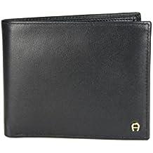 20f09c8251f41 Aigner Portemonnaie Geldbörse Portmonee 152679 Querformat schwarz