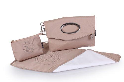 okiedog LUXE LILLIPUT elegante Clutch/Discotasche inkl. Zubehör (rot) Beige