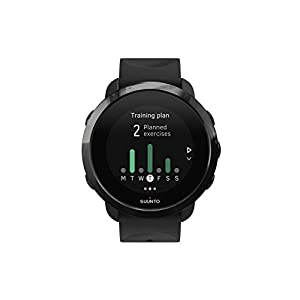 12251b26d87a Suunto SS050020000 3 Fitness - Multisport Watch with GPS and built-in heart  rate monitor