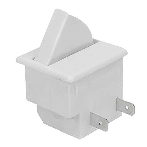 Useful HM-050K.4 2 pines/3 pines interruptor de luz interior para frigorífico congelador frigorífico puerta interruptor de luz frigorífico parte two pins blanco