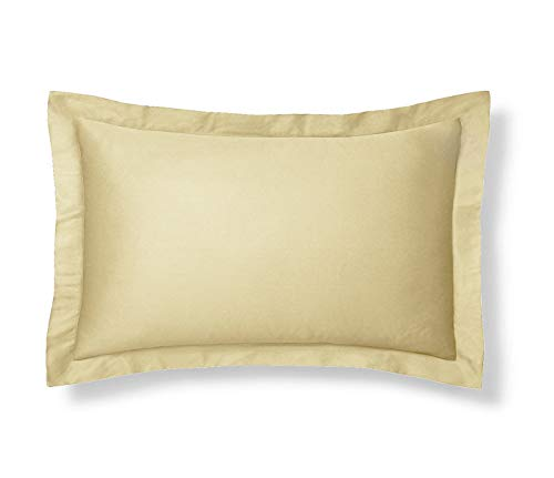 Shop Bedding Harmony Lane Klassische Tailored Pillow Sham - Knochen, Euro Shams 26x26