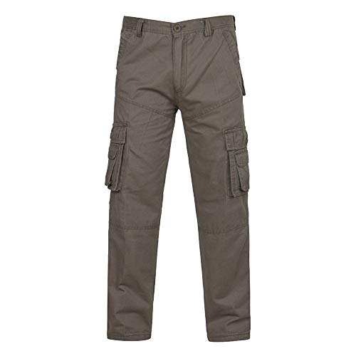 Geili Cargohose Herren Freizeithose Übergröße Viele Taschen Kampfhose Arbeitshose Männer Casual Tactical Military Armee Combat Lang Hosen Herbst Winter Regular Fit Cargo Pants - Schwarz Tactical Pullover