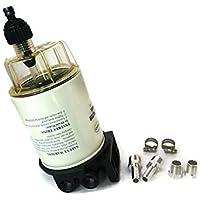 YAMASCO Barco Marina fueraborda Combustible Filtro Separador de Agua para Mercury 35-60494-1 Durable