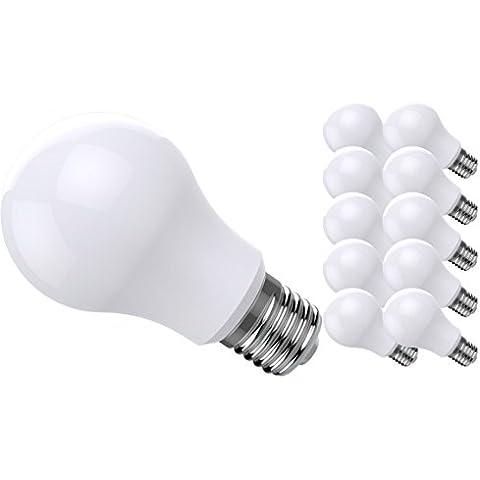 10 x LEDMAN E27 LED lampada 12