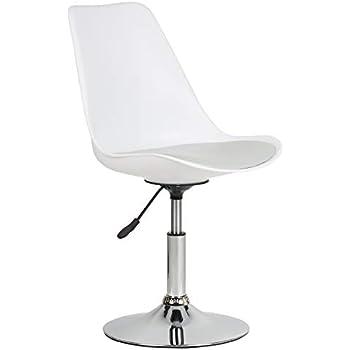 Chaises Hartleys Blanc Gris Moderne Pivotant De Bureau Chaise De