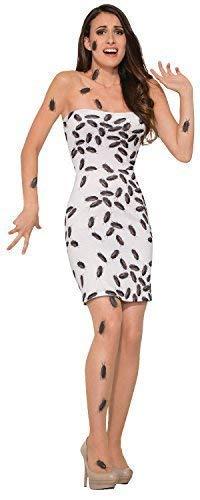 Fancy Me Damen Gruselig Bugged Out Cockroach Leiche Kleid Käfer Insekten Halloween Karneval Kostüm Kleid Outfit UK 10-14