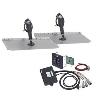 "Lenco Marine Lenco 12"" x12"" Standard Trim Tab Kit w/Standard Tactile Switch 12V"