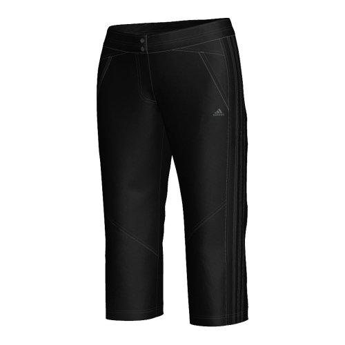 adidas Damen Hose Seperate S Clima Core Woven Stretch 3/4, Damen Unisex, schwarz -