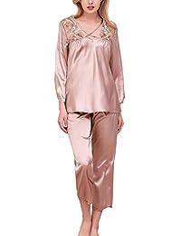 2b8a3261f3 Amazon.it: Camicia VINTAGE - Marrone / Pigiami e camicie da notte ...