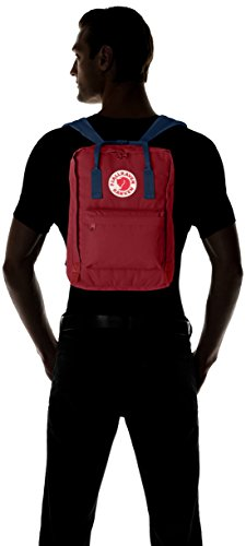 Fjällräven Rucksack Kånken Laptop 13 inch Ox Red/Royal Blue