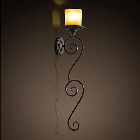 Winson American candele luce da parete in stile continentale Palace corridoio corridoio Soggiorno Foyer ferro luci a parete