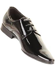 Dymastyle - Chaussure de Mariage Vernies Noir
