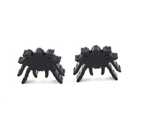 Spinnen Silhouetten Ohrstecker Ohrringe halloween