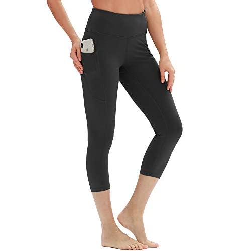 31HHBWxK9sL. SS500  - icyzone Yoga Pants for Women - High Waisted Workout Leggings with Pockets, Power Flex Athletic Capris Gym Exercise…