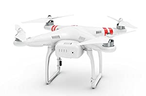 DJI Phantom 2 UAV Aerial Quadcopter Drone Compatible with GoPro Hero2/3/3+/4 and Action Cameras (Mount Not Included) - White by DJI