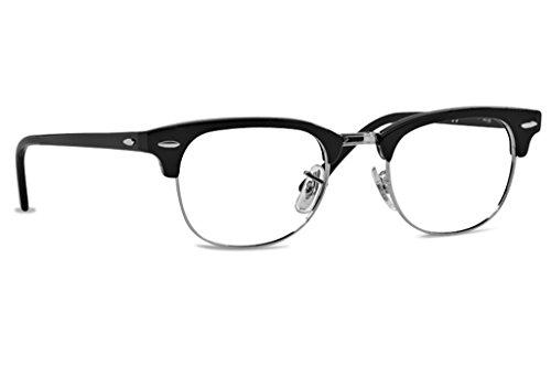 Ray-Ban RX5154 Brillen in schwarz glänzend RX5154 2000 49 49 Clear