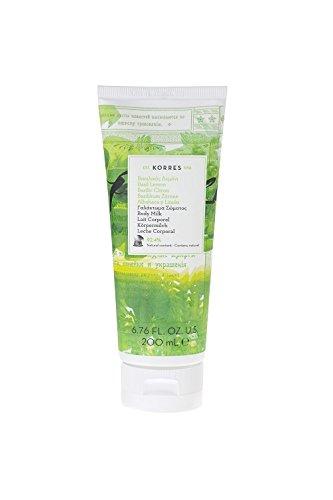 korres-basil-lemon-body-milk-200-ml