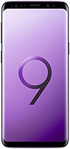 Samsung Galaxy S9 (Single SIM) 64 GB 5.8-Inch Android 8.0 Oreo UK Version SIM-Free Smartphone - Lilac Purple