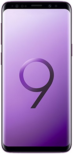 Samsung Galaxy S9 Smartphone (5,8 Zoll Touch-Display, 64GB interner Speicher, Android, Dual Sim) Lilac Purple – Deutsche Version