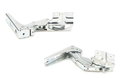 aus dem Hause DREHFLEX® - ORIGINAL - Bosch / Siemens / Neff Türscharnier-Set für Kühlschrank - passend für Teile-Nr. 12004051 - bestehend aus 00267189 + 00267190 - von der Firma Hettich produziert