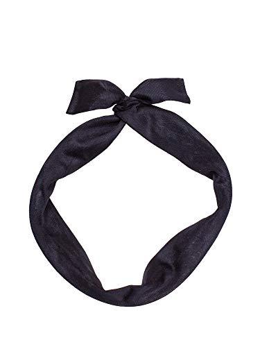 SETRINO Haarband schwarz Draht als Haarschmuck Kopfband Pinup 50er Rockabilly