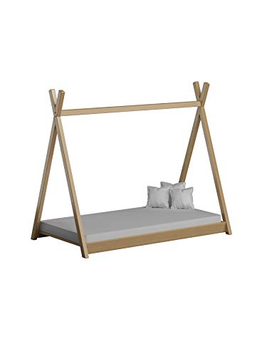 Children's Beds Home Cama Individual Dosel Madera